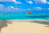 Tropical beach at Maldives — Stock Photo