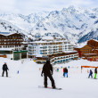 Mountains ski resort Solden Austria - Stock Photo
