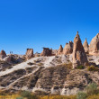 Stock Photo: Panoramof Camel rock at CappadociTurkey