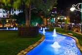 Night view of Kusadasi Turkey — Stock Photo