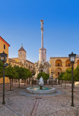 Square of Triumph of San Rafael in Cordoba Spain — Stock Photo