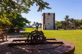 Tower Torre del conde in San Sebastian - La Gomera Island - Cana — Stock Photo