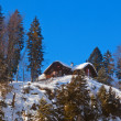 Mountains ski resort St. Gilgen Austria - Foto de Stock