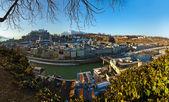 City and castle Hohensalzburg - Salzburg Austria — Stock Photo