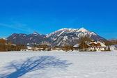 Mountains ski resort Strobl Austria — Stock Photo