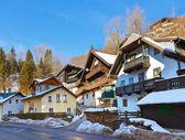 Village St Wolfgang on the lake Wolfgangsee - Austria — Stock Photo