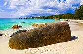 Beach Anse Lazio at island Praslin, Seychelles — Stock Photo