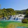 Waterfall KRKA in Croatia — Stock Photo #15003577