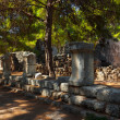 Old town Phaselis in Antalya, Turkey — Stock Photo