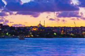 Istanbul Turkey sunset — Stock Photo