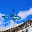 Helicopter in mountains - Obergurgl Austria — Stock Photo