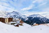 Mountains ski resort Solden Austria — Stock Photo