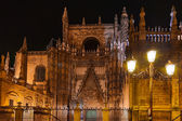 Cathedral La Giralda at Sevilla Spain — Stock Photo