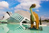 City of Arts and Sciences - Valencia Spain — Stock Photo