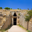Stock Photo: Treasury in Mycenae town, Greece