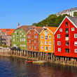 Cityscape of Trondheim, Norway — Stock Photo #15597695