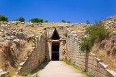 Treasury in Mycenae town, Greece — Stock Photo