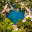 Stock Photo: Green canyon at Turkey