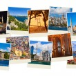 Stack of Istanbul Turkey travel images - Stock Photo
