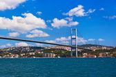 Bosphorus bridge in Istanbul Turkey — Stock Photo