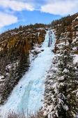 Waterfall Stuibenfall at Umhausen - Tirol Austria — Stock Photo