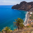 Beach in La Gomera island - Canary - Stock Photo