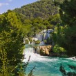 Waterfall KRKA in Croatia — Stock Photo #15927047