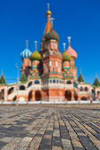 Saint Basil Cathedral on Red square, Moscow — Stock Photo