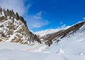 Mountain ski resort Obergurgl Austria — Stock Photo