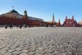 La plaza roja en moscú kremlin — Foto de Stock