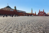 Red square at Kremlin Moscow — Stock Photo