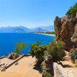 Beach at Antalya Turkey — Stock Photo