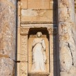 Fragment of Celsius Library in Ephesus Turkey — Stock Photo