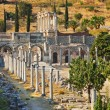 Ancient ruins in Ephesus Turkey — Photo