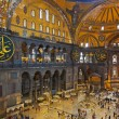 Hagia Sophia interior at Istanbul Turkey — Stock Photo