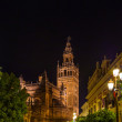 Stock Photo: Cathedral LGiraldat SevillSpain