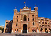 Bullfighting corrida arena in Madrid Spain — Stock Photo
