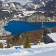 Mountains ski resort St. Gilgen Austria - Foto Stock