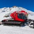 Machines for skiing slope preparations at Bad Hofgastein Austria — Stock Photo