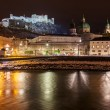 Stock Photo: Salzburg Austriat night