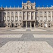 Royal Palace at Madrid Spain — Stock fotografie #19912483