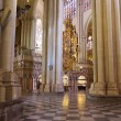 Interior of Cathedral in Toledo Spain — Stock Photo #19912527