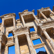 Ancient Celsius Library in Ephesus Turkey — Stockfoto