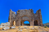 Ruins at Aspendos in Antalya, Turkey — Stock Photo