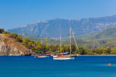 Beach at Phaselis in Antalya, Turkey — Stock Photo