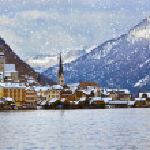 Village Hallstatt on the lake - Salzburg Austria — Stock Photo #20174131