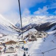 Royalty-Free Stock Photo: Mountain ski resort Obergurgl Austria