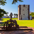 Tower Torre del conde in SSebasti- LGomerIsland - Cana — Stock Photo #20246879