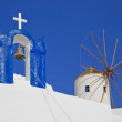 Santorini symbols, Greece — Stock Photo