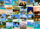 Summer beach maldives images — Stock Photo